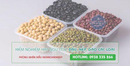 Kiểm nghiệm ngũ cốc hạt các loại