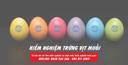 Kiểm nghiệm trứng các loại