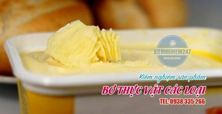 Thử nghiệm bơ thực vật