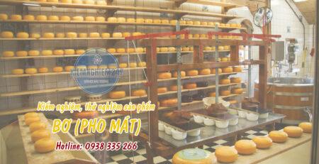 Kiểm nghiệm thử nghiệm bơ