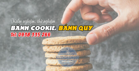 Thử nghiệm bánh quy, bánh cookie