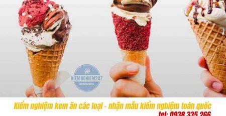 Hướng dẫn lên chỉ tiêu kiểm nghiệm kem ăn