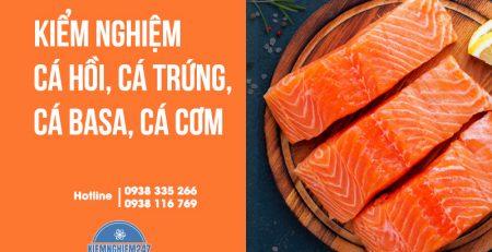 Các cở sở kinh doanh cá hồi, cá trứng... cần phải kiểm nghiệm và công bố chất lượng trước khi kinh doanh. Vậy kiểm nghiệm cá hồi, cá trứng...
